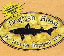 Dogfish Head 90 Minute IPA Label